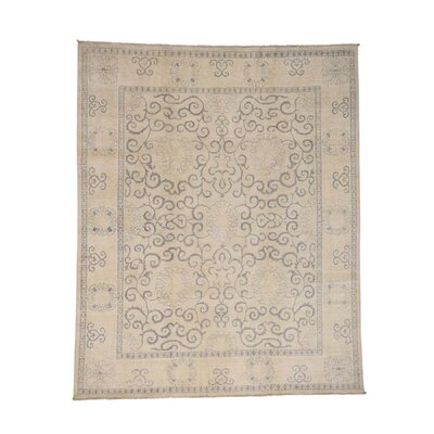 One-of-a-Kind Lavendon Oriental Hand-Knotted Area Rug