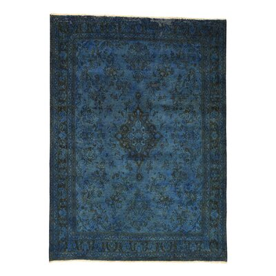 One-of-a-Kind Kendrick Overdyed Vintage Hand-Knotted Area Rug