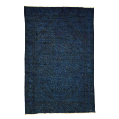 One-of-a-Kind Govan Overdyed Worn Hand-Knotted Area Rug
