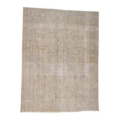 One-of-a-Kind Rudolph Vintage Hand-Knotted Area Rug