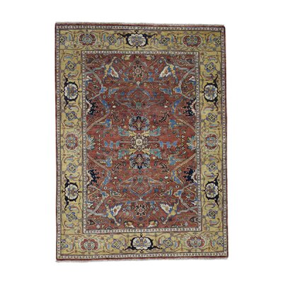 One-of-a-Kind Rueter Re-creation Oriental Hand-Knotted Area Rug