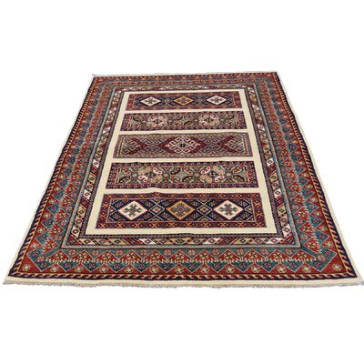 One-of-a-Kind Tillotson Special Khorjin Oriental Hand-Knotted Area Rug
