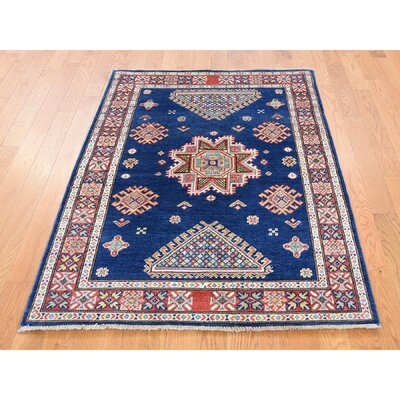 One-of-a-Kind Tillett Special Geometric Hand-Knotted Area Rug