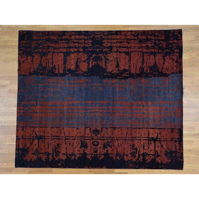 One-of-a-Kind Edelstein Abstract Oriental Hand-Knotted Area Rug