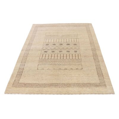 One-of-a-Kind Rothenberg Undyed Natural Hand-Knotted Area Rug