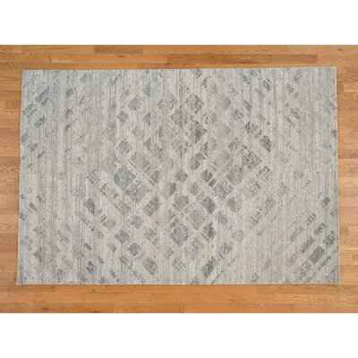 One-of-a-Kind Woodson Undyed Natural Oriental Hand-Knotted Area Rug