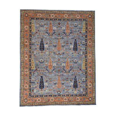 One-of-a-Kind Granillo Willow and Cypress Tree Hand-Knotted Area Rug