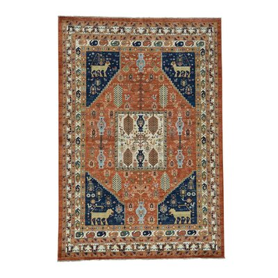 One-of-a-Kind Granillo Ancient Animal Hand-Knotted Area Rug