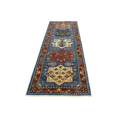 One-of-a-Kind Granillo Akstafa Oriental Hand-Knotted Area Rug