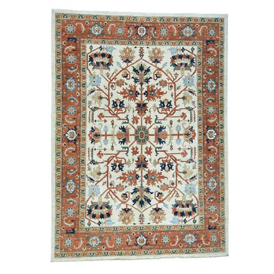 One-of-a-Kind Rueter Peshawar Oriental Hand-Knotted Area Rug Rug Size: Rectangle 81 x 99