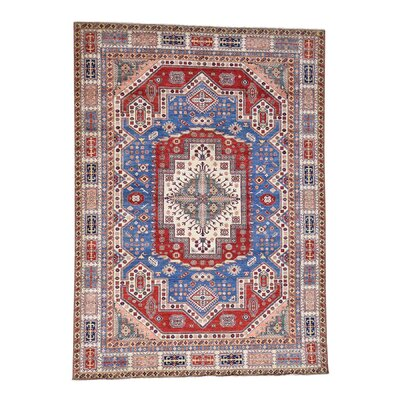 One-of-a-Kind Tillotson Super Heriz Hand-Knotted Area Rug Rug Size: Rectangle 910 x 133