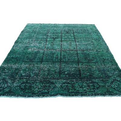 One-of-a-Kind MaryLou Vintage Overdyed Hand-Knotted Area Rug
