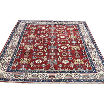One-of-a-Kind Tillman Squarish Special Oriental Hand-Knotted Area Rug