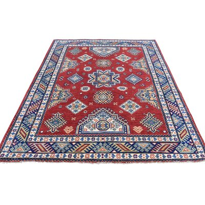 One-of-a-Kind Tillman Special Geometric Oriental Hand-Knotted Area Rug