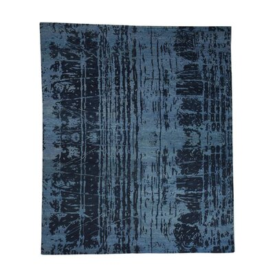 One-of-a-Kind Eddyville Tone on Tone Abstract Oriental Hand-Knotted Area Rug