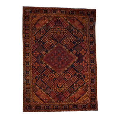 One-of-a-Kind Greenawalt Vintage Overdyed Oriental Hand-Knotted Area Rug