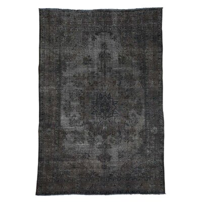 One-of-a-Kind Edford Vintage Overdyed Hand-Knotted Area Rug
