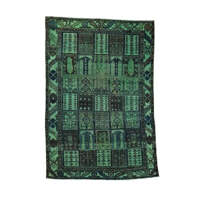 One-of-a-Kind Greenawalt Vintage Overdyed Hand-Knotted Area Rug
