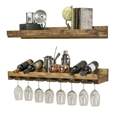 Oconner Wall Mounted Wine Glass Rack