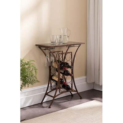 Kendall 10 Floor Wine Rack