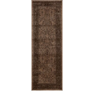 Shailene Brown Area Rug Rug Size: Runner 22 x 6