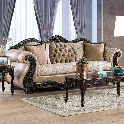 Rieves Sofa Upholstery: Cream