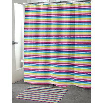 Dillion Shower Curtain Size: 70 H x 90 W