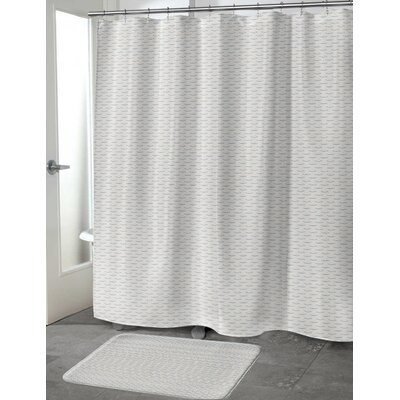Ewell Shower Curtain Size: 70 H x 90 W