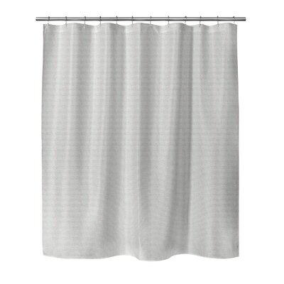Steven Shower Curtain Color: Mint, Size: 70 H x 90 W