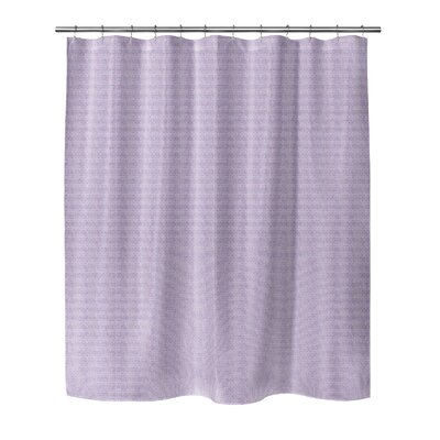 Steven Shower Curtain Color: Pink, Size: 70 H x 72 W