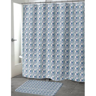 Ayling Shower Curtain Size: 70 H x 72 W