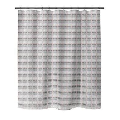 Leath Shower Curtain Color: Pink, Size: 70 H x 90 W