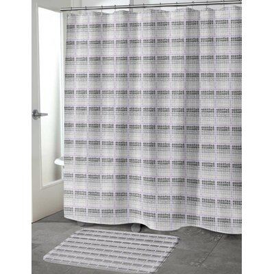 Leath Shower Curtain Size: 70 H x 72 W