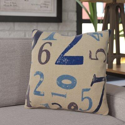 Graig Throw Pillow Pillow Cover Color: Indigo
