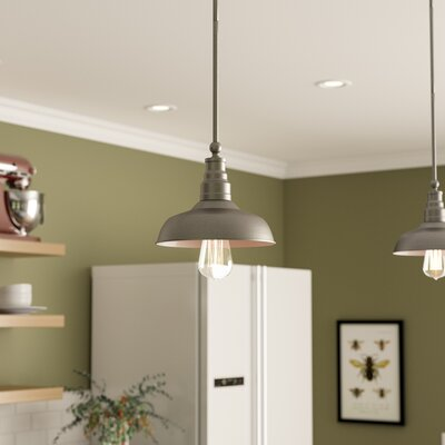 Stephine 1-Light Mini Pendant Finish: Galvanized