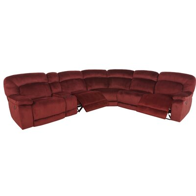Fenton Reclining Sectional (Set of 7)
