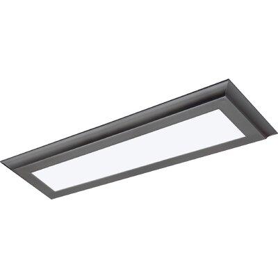 Blink Plus LED Semi Flush Mount Finish: Gray