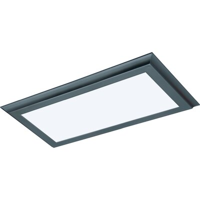 Blink Plus LED Semi Flush Mount Finish: Bronze