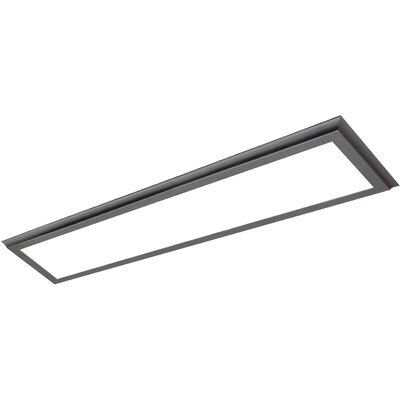 Blink Plus LED Semi Flush Mount Finish: Gray