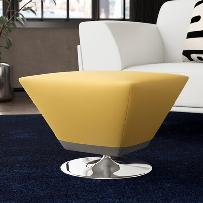 Sifford Ottoman Upholstery: Yellow