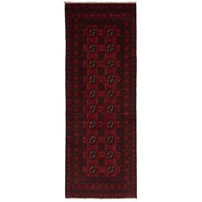 One-of-a-Kind Willson Hand-Knotted Wool Red Area Rug