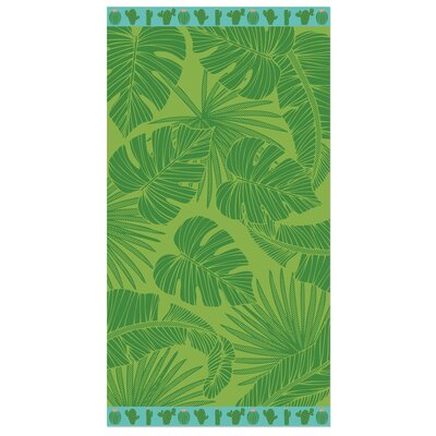 Holasovice Greenery Beach Towel