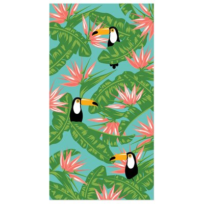 Kazivera Greenery Beach Towel