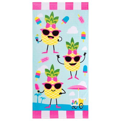 Stough Pine-A-Popsicle Beach Towel