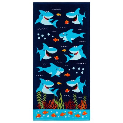 Jermey Shark Beach Towel