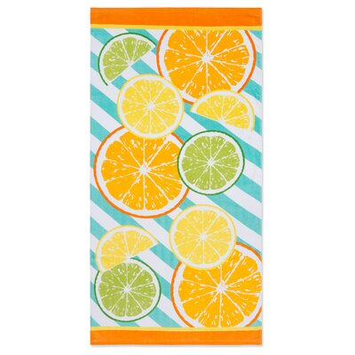 Ramonne Citrus Beach Towel