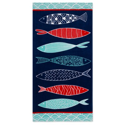 Lowrey Fish Beach Towel