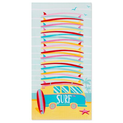 Ramonne Surf Van Beach Towel