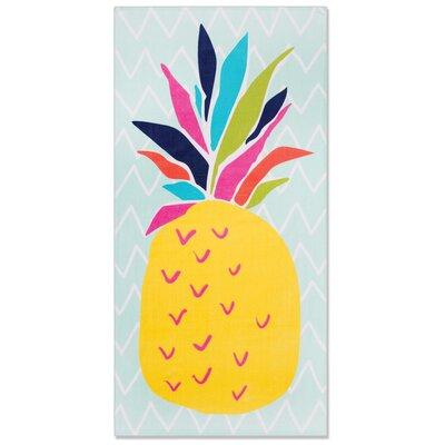 Woodhill Pineapple Beach Towel