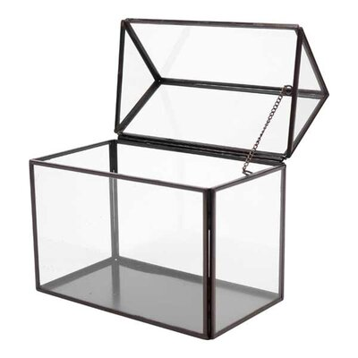 Quon Glass House Storage Decorative Box